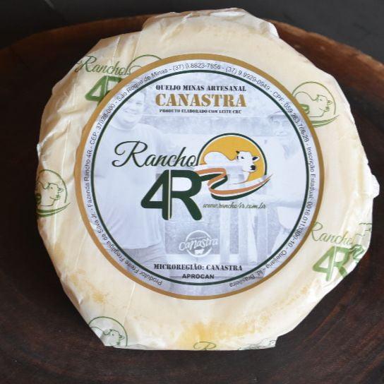 Queijo da Canastra Tradicional Rancho 4R Medalha OURO