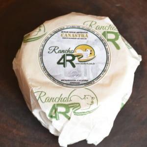 Queijo da Canastra Canastrinha Rancho 4R Medalha OURO